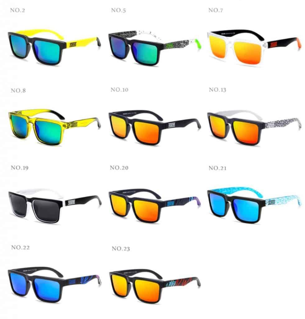 AliExpress fake sunglasses Cheap replica shades aviator glasses Sun UV Rayban Multi color Shiny Gold with case 3 Models