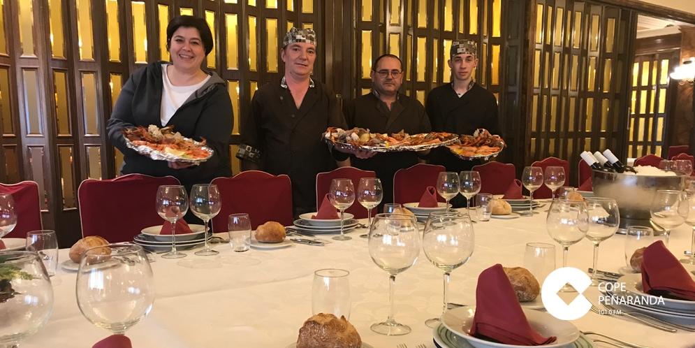 El restaurante El Oso y El Madroño presentó sus jornadas del Marisco
