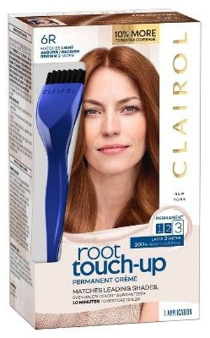 Dye hair roots - Clairol Root Touch-Up Permanent Hair Color Creme | 40plusstyle.com
