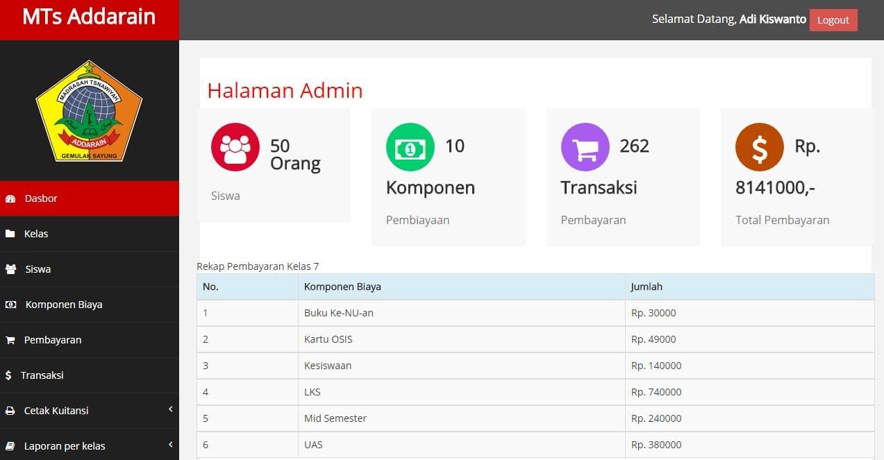Epayment : Aplikasi Pembayaran Online Sekolah