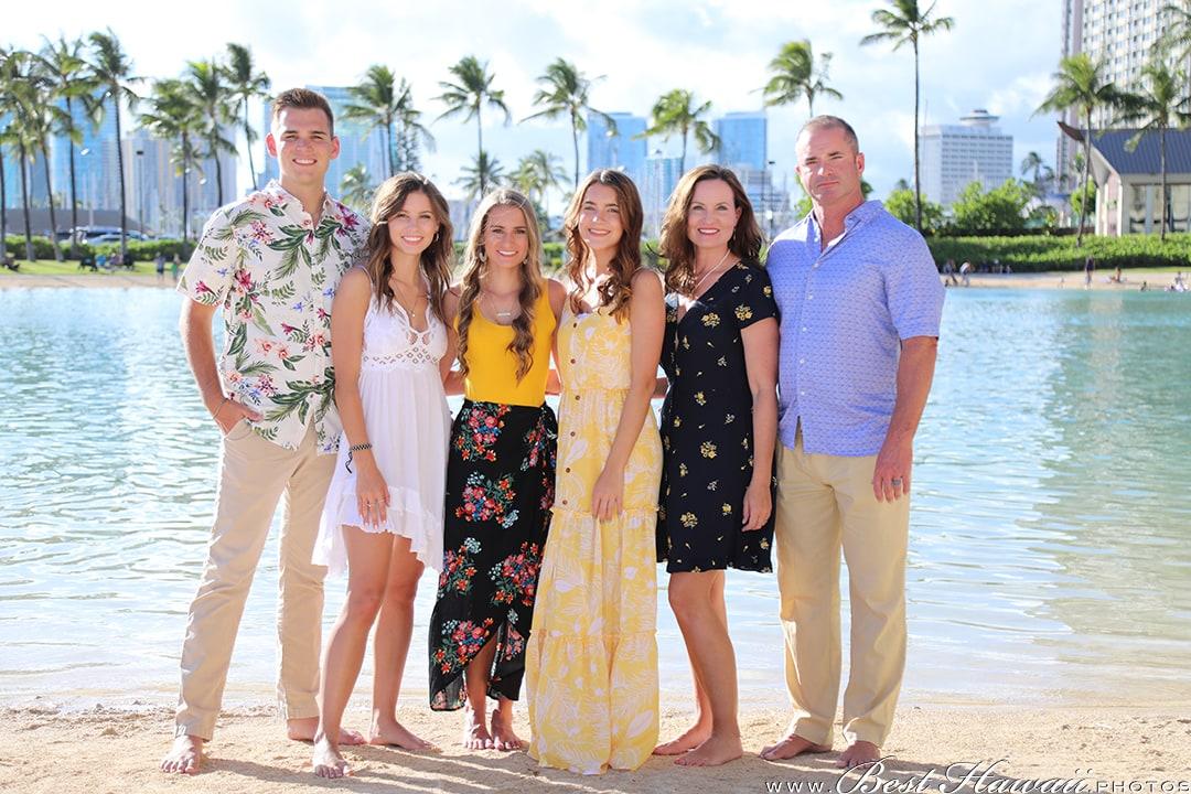 Family Photography at Hilton Hawaiian Village