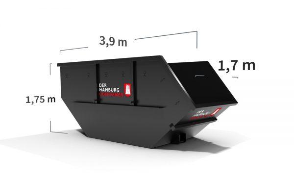 10 kubikmeter Absetzcontainer für Hamburg