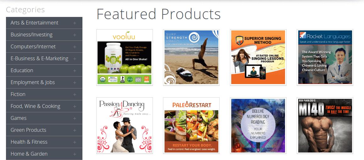 clickbank prodotti-example