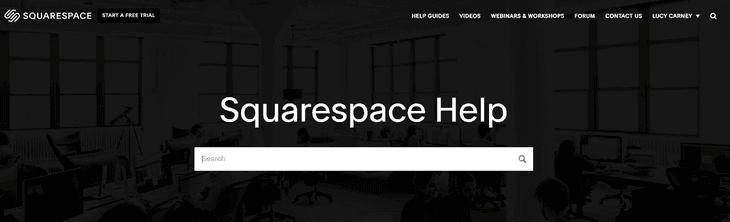 Squarespace-aiuto