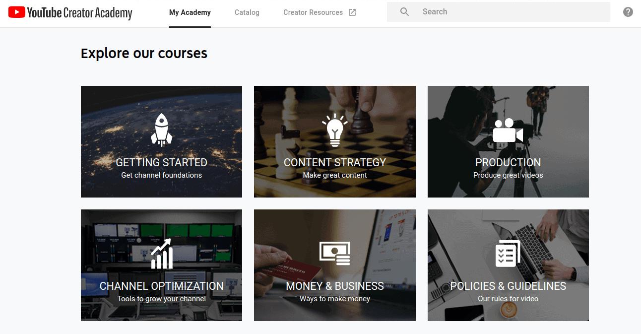 youtube-creatore-academy