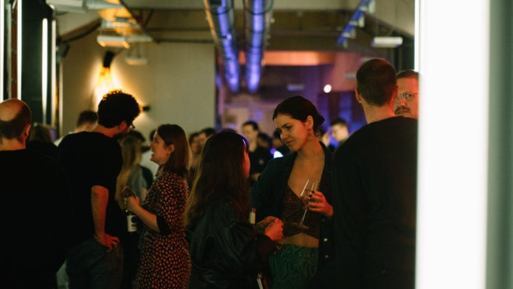 Guests at the Factory Berlin and Beats by Dr. Dre Launch party