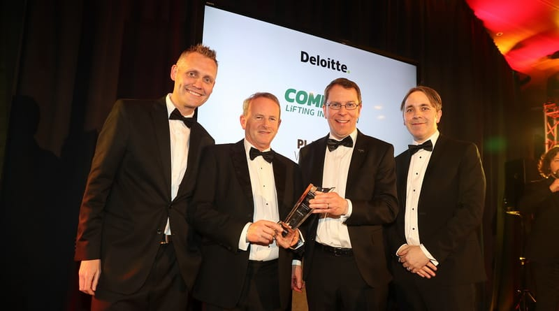 Combilift wins Deloitte Platinum Best Managed Company Award