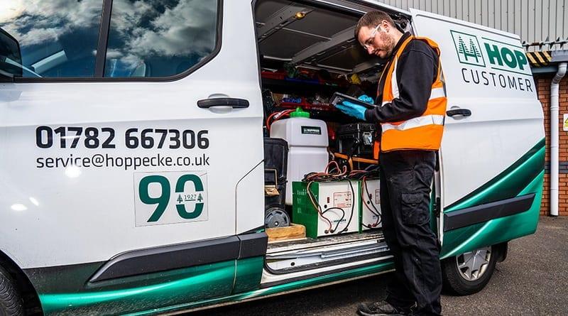 Hoppecke enhances customer service with new on-board innovations