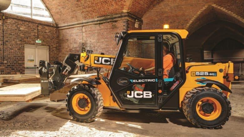 Bennie Equipment invest in New JCB 525-60E Electric Telehandler