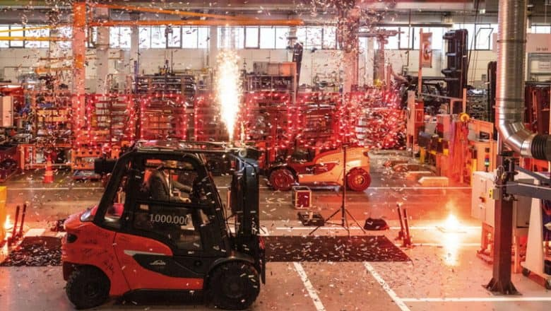 One-millionth Linde truck rolls out of Aschaffenburg
