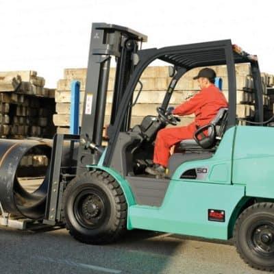 LPG forklift overcomes diesel legislation