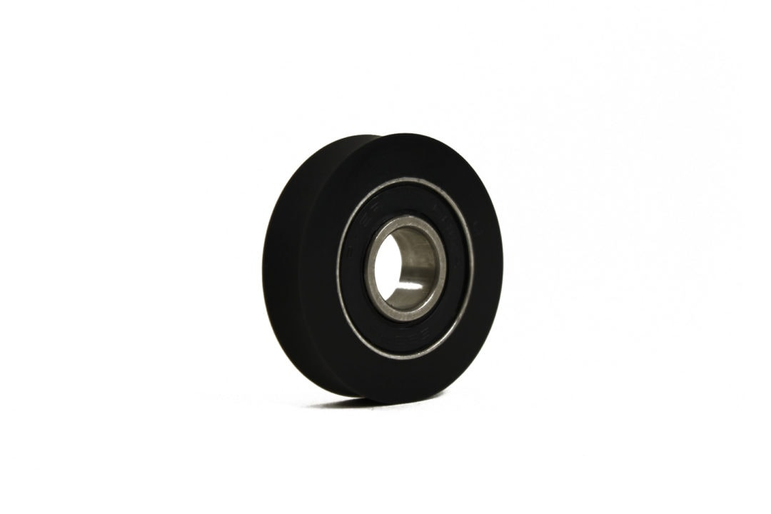 polyurethane roller with bearing