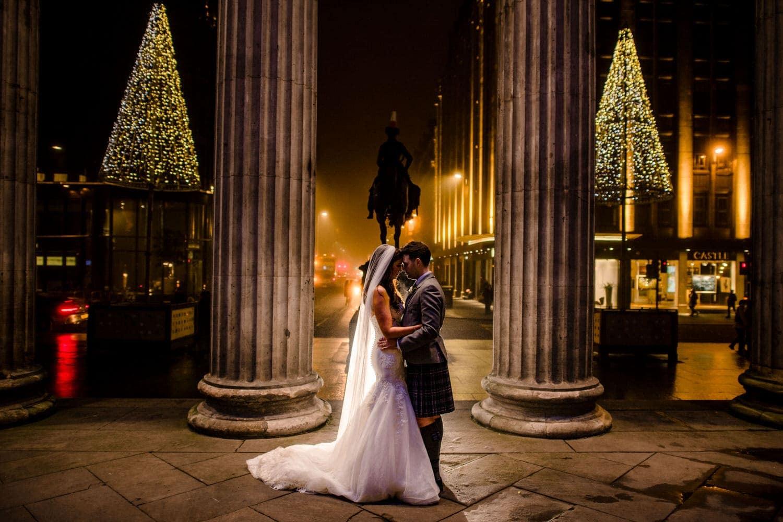 29 glasgow winter wedding