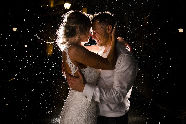 cornhill castle wedding raining