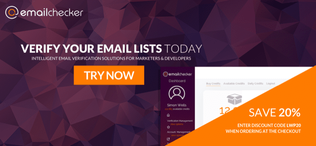 EmailChecker – Email verification for the professionals