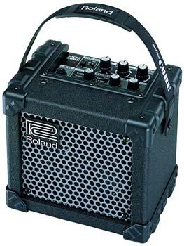 8. Roland Micro Cube Guitar Amp – Black