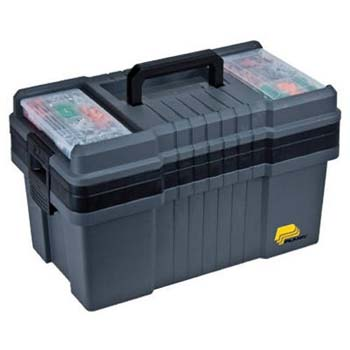 8. Plano 823-003 Contractor Grade Po Series 22-Inch Tool Box, Graphite Gray with Black Handles and Latches
