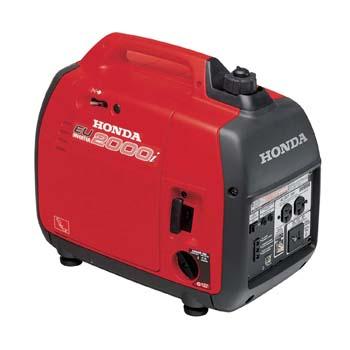 6. Honda EU2000I 2000 Watt Portable Generator with Inverter