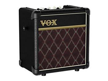 5. Vox MINI5RCL Battery Powered Amplifier, Classic, 5W, 1 x 6.5