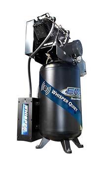 9. Emax Compressor ES07V080V1 Industrial 7.5HP air compressor