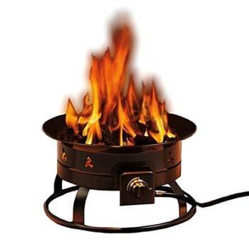 5. Heininger 5995 58,000-BTU Portable (Propane Gas) Fire Pit