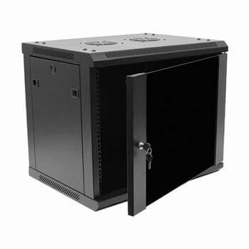 4. Navepoint 9U Deluxe IT Wallmount Cabinet Enclosure