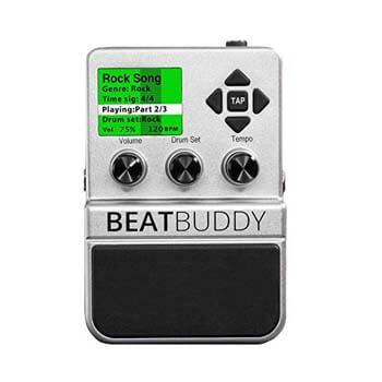 1). Singular Sound Beat-Buddy First Guitar Pedal With Drum Machine