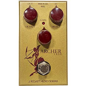 5). Archer Ikon J.Rockett Audio Designs Overdrive & Boost Guitar Effects Drum and Pedal