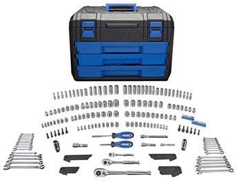 6 Kobalt 227 Mechanics Tool Set