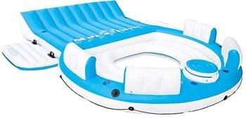 10. Intex Relaxation IslandLounge 6-Person Raft