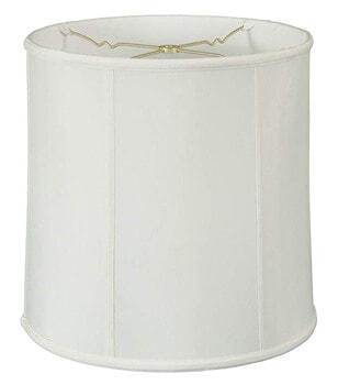 10. Royal Designs BS-719-15WH Basix Drum Lamp