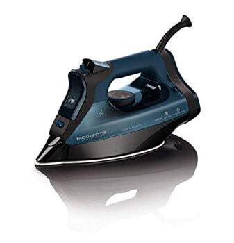 8. Rowenta Everlast 1750-Watt Steam Iron Blue