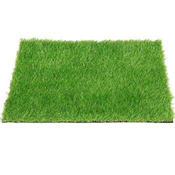 7. QYH Artificial Grass Doormat Indoor/Outdoor Green Lawn Rug Pet Turf for Dogs