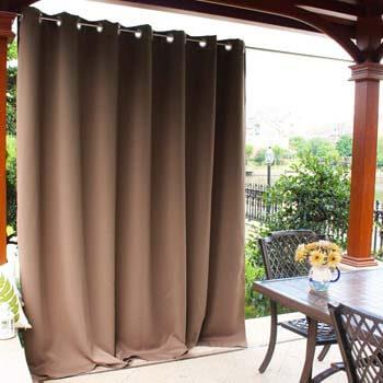 7. NICETOWN Outdoor Curtain