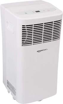 7: AmazonBasics Portable Air Conditioner with Remote - Cools 300 Square Feet, 8,000 BTU