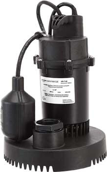 5. AmazonCommercial 1/2 HP Thermoplastic Submersible Sump Pump