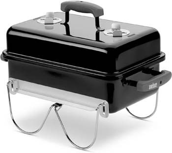 1. Weber 121020 Go-Anywhere Charcoal Grill