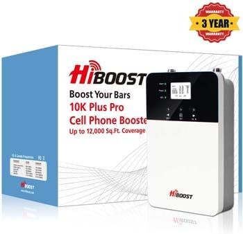 10. Hiboost 10K plus Pro Signal Booster, HiBoost App Helps Fine-Tune Max Power
