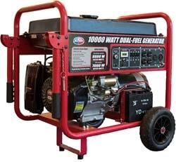 4. All Power America APGG10000GL 10000 Watt Dual Fuel Portable Generator