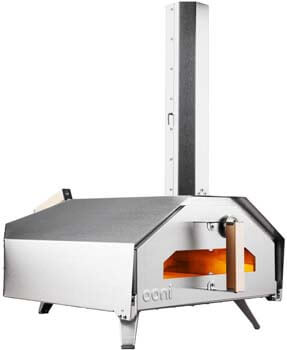 7. Ooni Pro Outdoor Pizza Oven, Pizza Maker, Wood-Fired Pizza Oven, Gas Oven, Award-Winning Pizza Oven