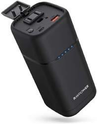 3. AC Portable Charger RAVPower 20000mAh 80W AC Power Bank