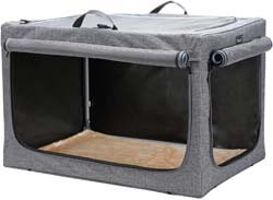 10. Petsfit Travel Pet Home Indoor/Outdoor for Dog Steel Frame Home, Collapsible Soft Dog Crate