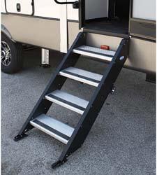 4. MOR/ryde International Inc. STP-4-30-03H Fold Up Step 4 Step 30