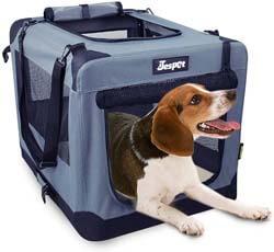 7. JESPET Soft Pet Crates Kennel 26