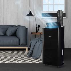 10. DELLA 14000 BTU Portable Air Conditioner Fan + Heater
