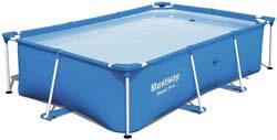 7. Bestway Steel Pro Rectangular Above Ground Swimming Pool