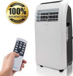 3. SereneLife 10,000 Portable Air Conditioner + 9000 BTU Heater