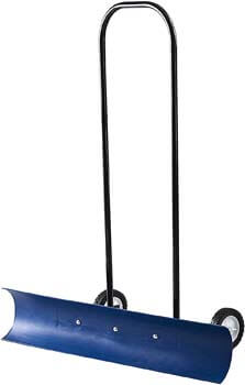 4. The Snowcaster 30SNC 36-inch Bi-Directional Wheeled Snow Shovel
