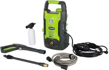 5. GreenWorks 1600 PSI 13 Amp 1.2 GPM Pressure Washer GPW1602