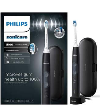 4. Philips Sonicare ProtectiveClean 5100 Gum Health